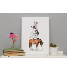 Daisy Tree Baby Boutique The Farmyard Print