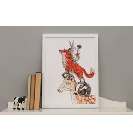 Daisy Tree Baby Boutique Great British Beasts Print