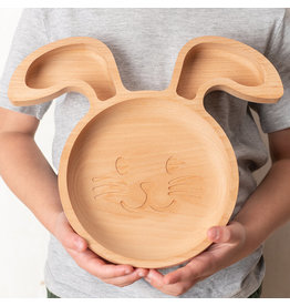 The Wood Life Project The Rabbit  Plate