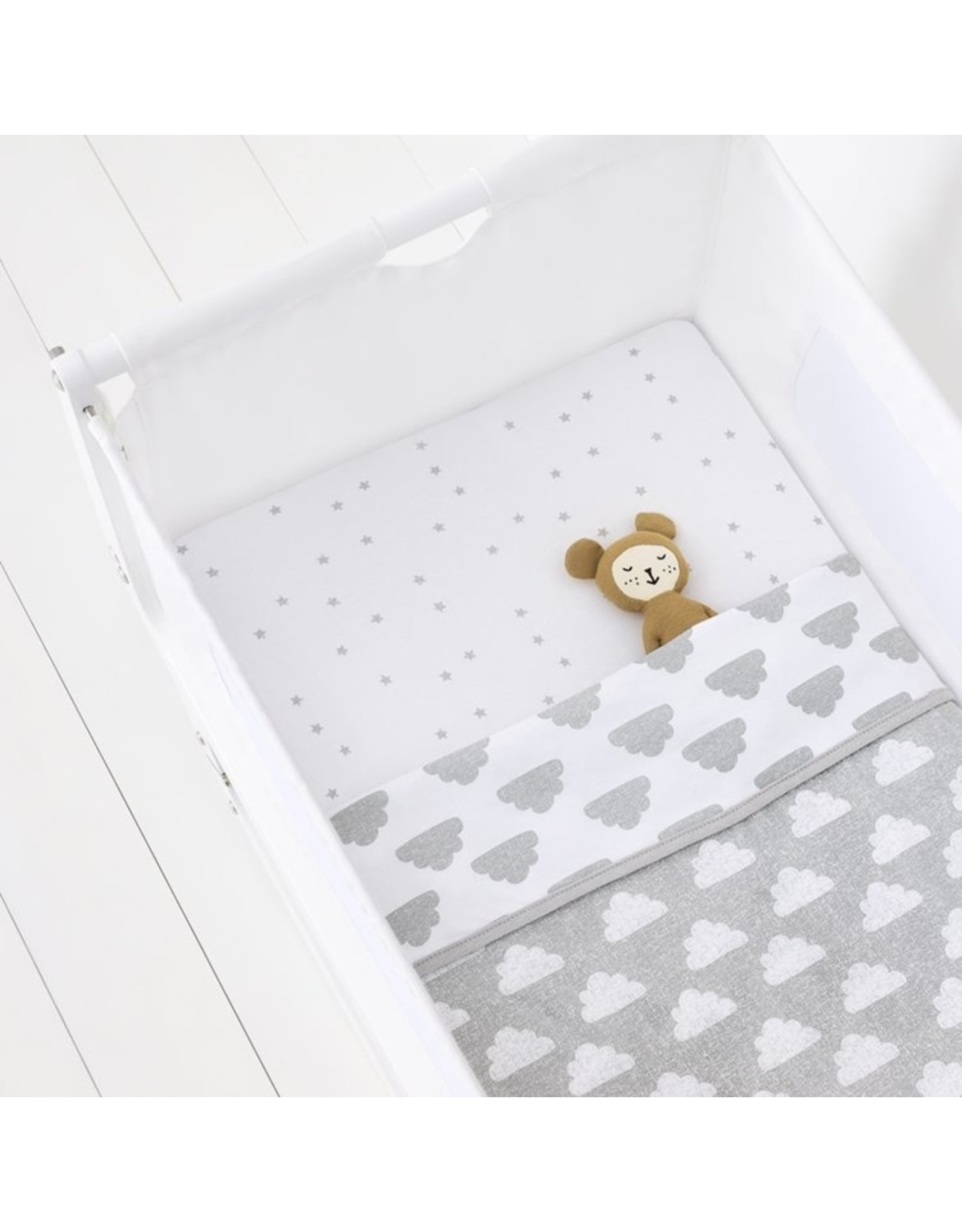 Crib 3 Piece  Bedding Set-Cloud Nine