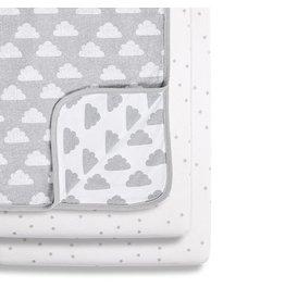 Crib 3 Piece  Bedding Set- Cloud Nine