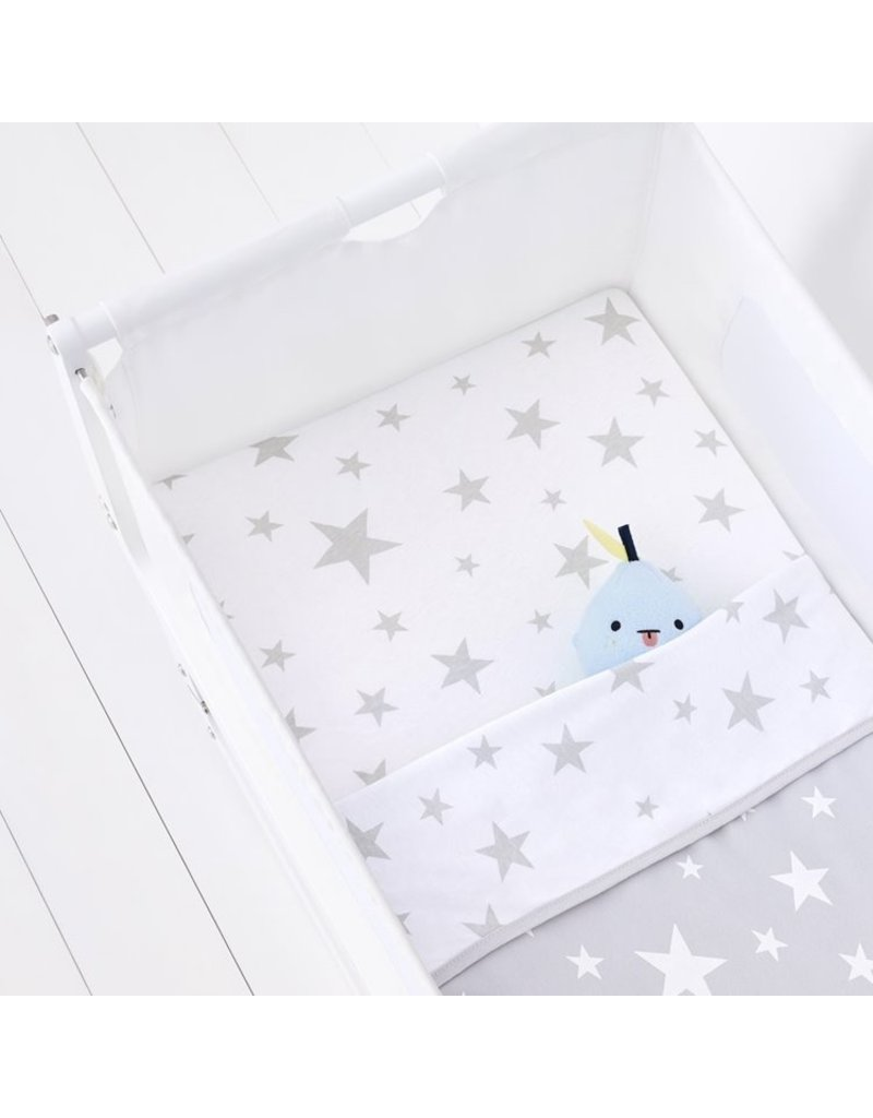 Crib 2 Pack Fitted Sheets – Stars