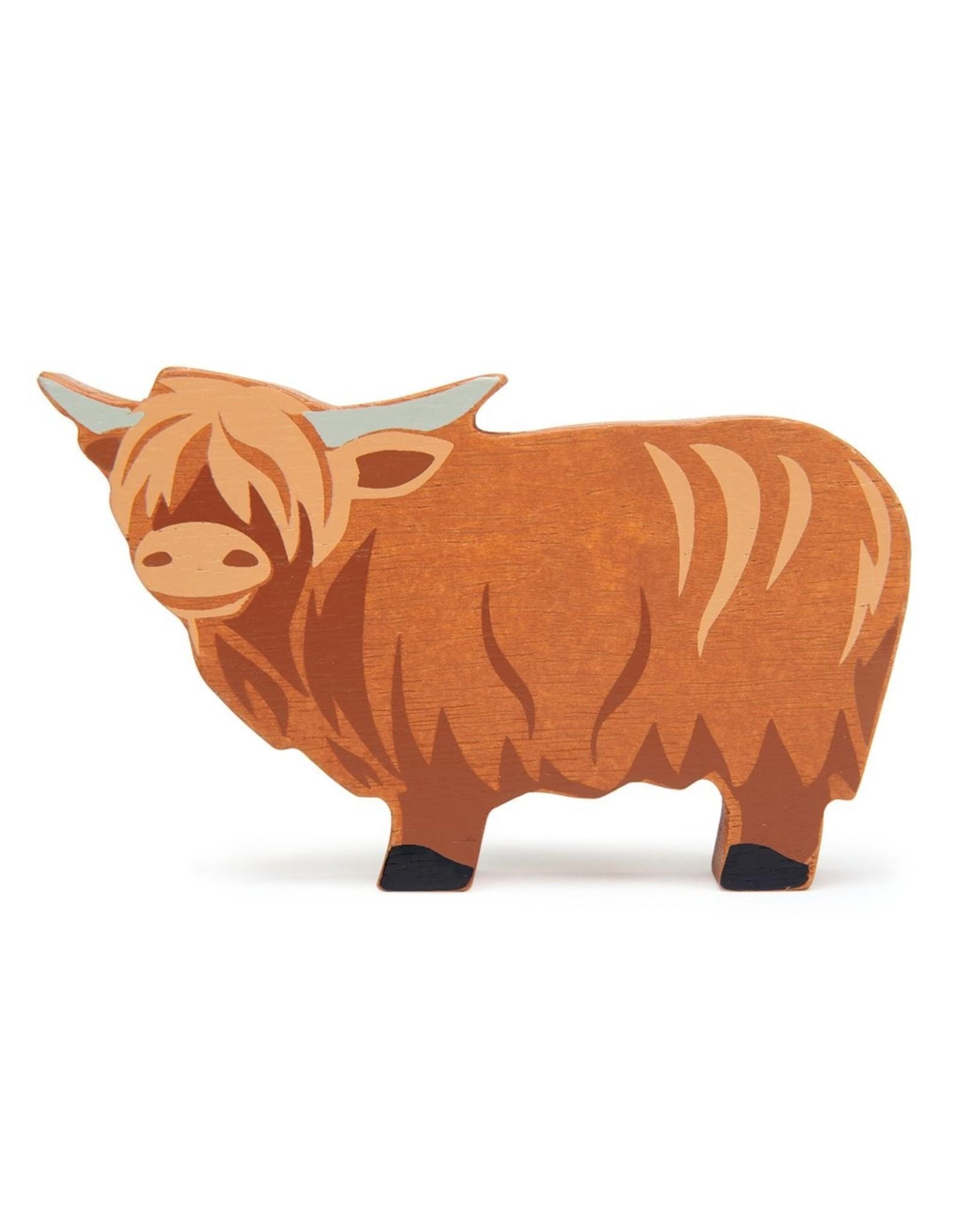 Tender Leaf Toys Farmyard Highland Cow