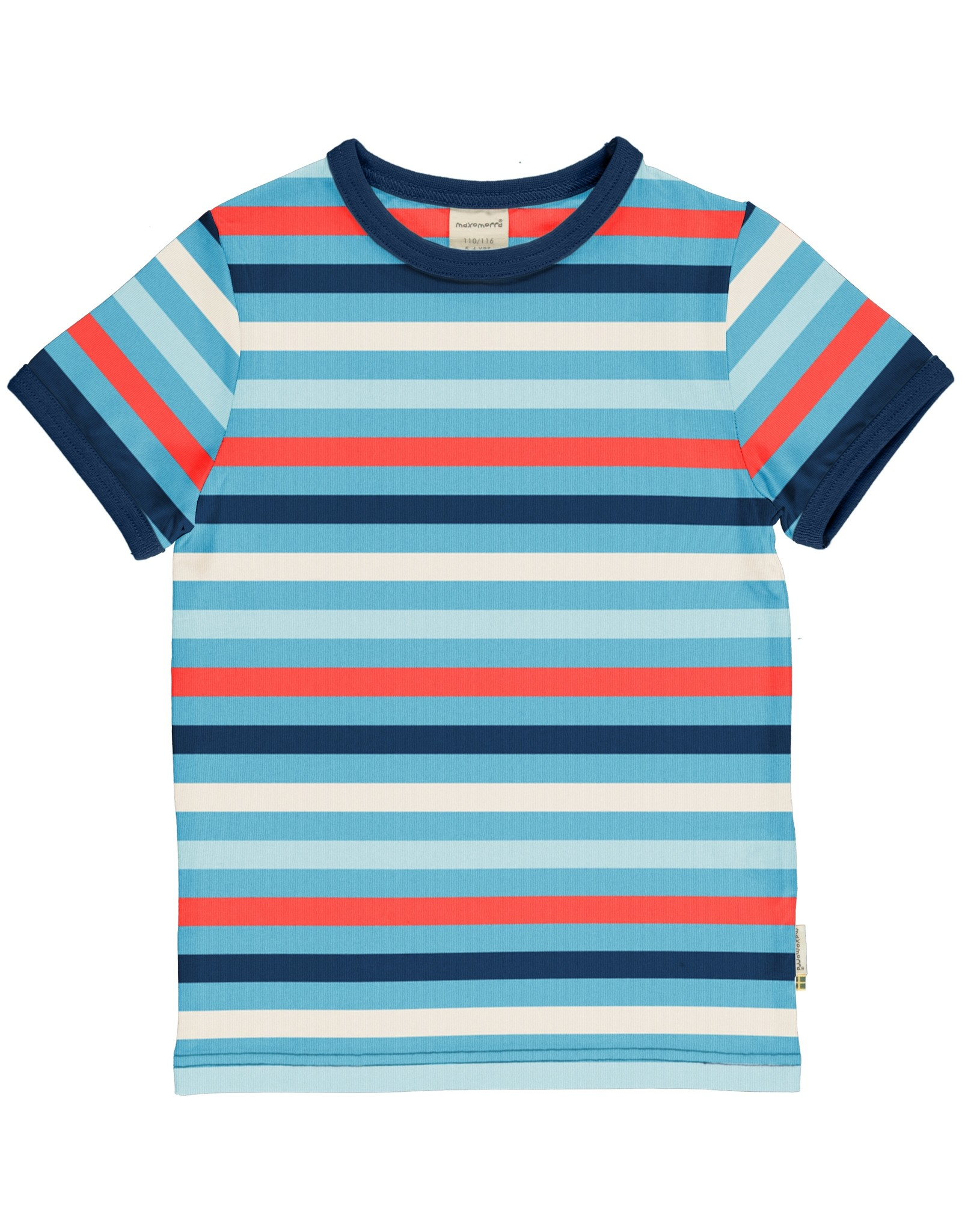 Maxomorra Maxomorra SS Stripe T Shirt