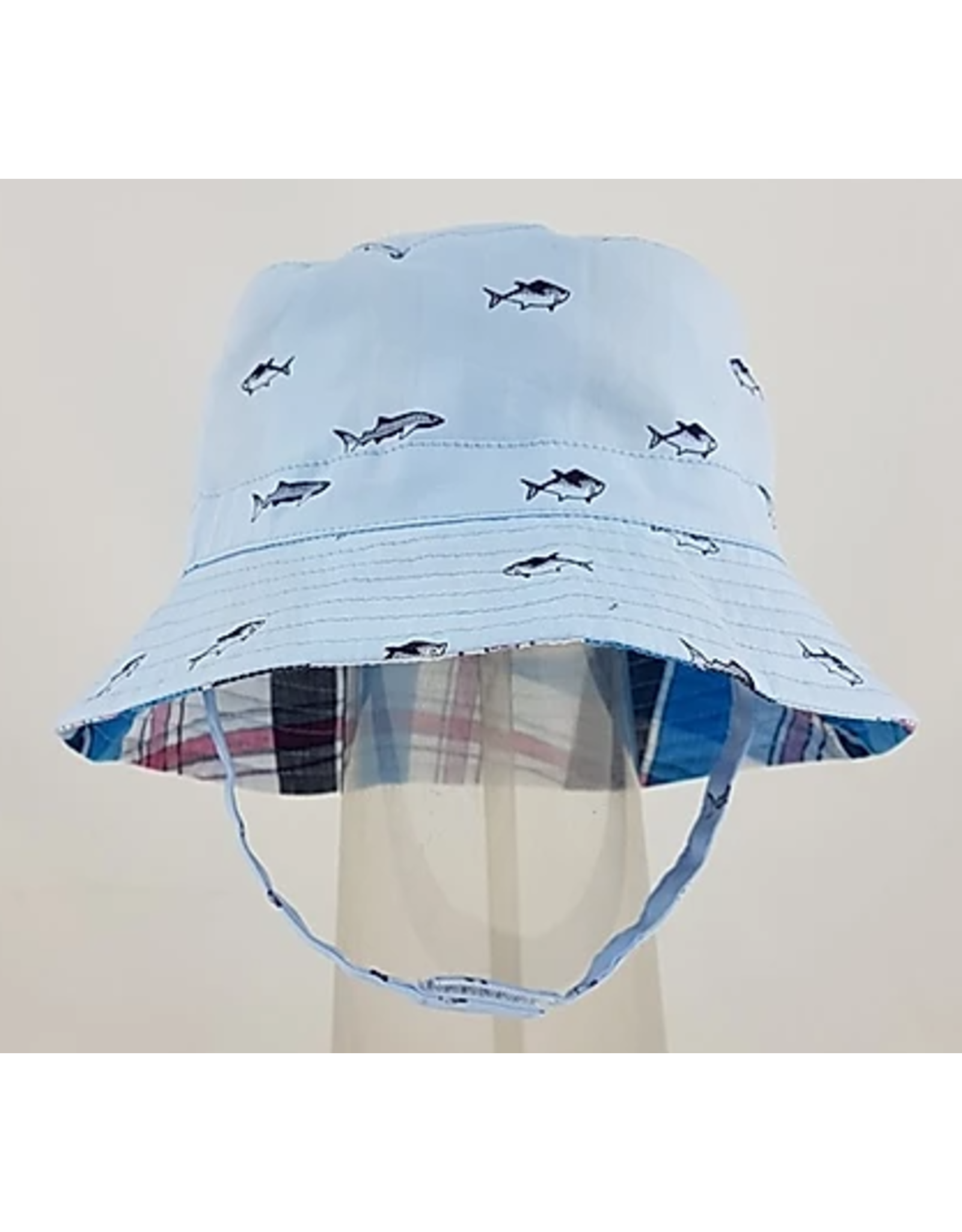 Reversible Bucket at with Chin Straps