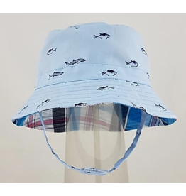 Reversible Bucket Hat with Chin Straps