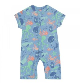 Piccalilly Save Our Seas Shortie Romper