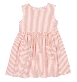 Kite Clothing Seersucker Heart Dress- 2 Years