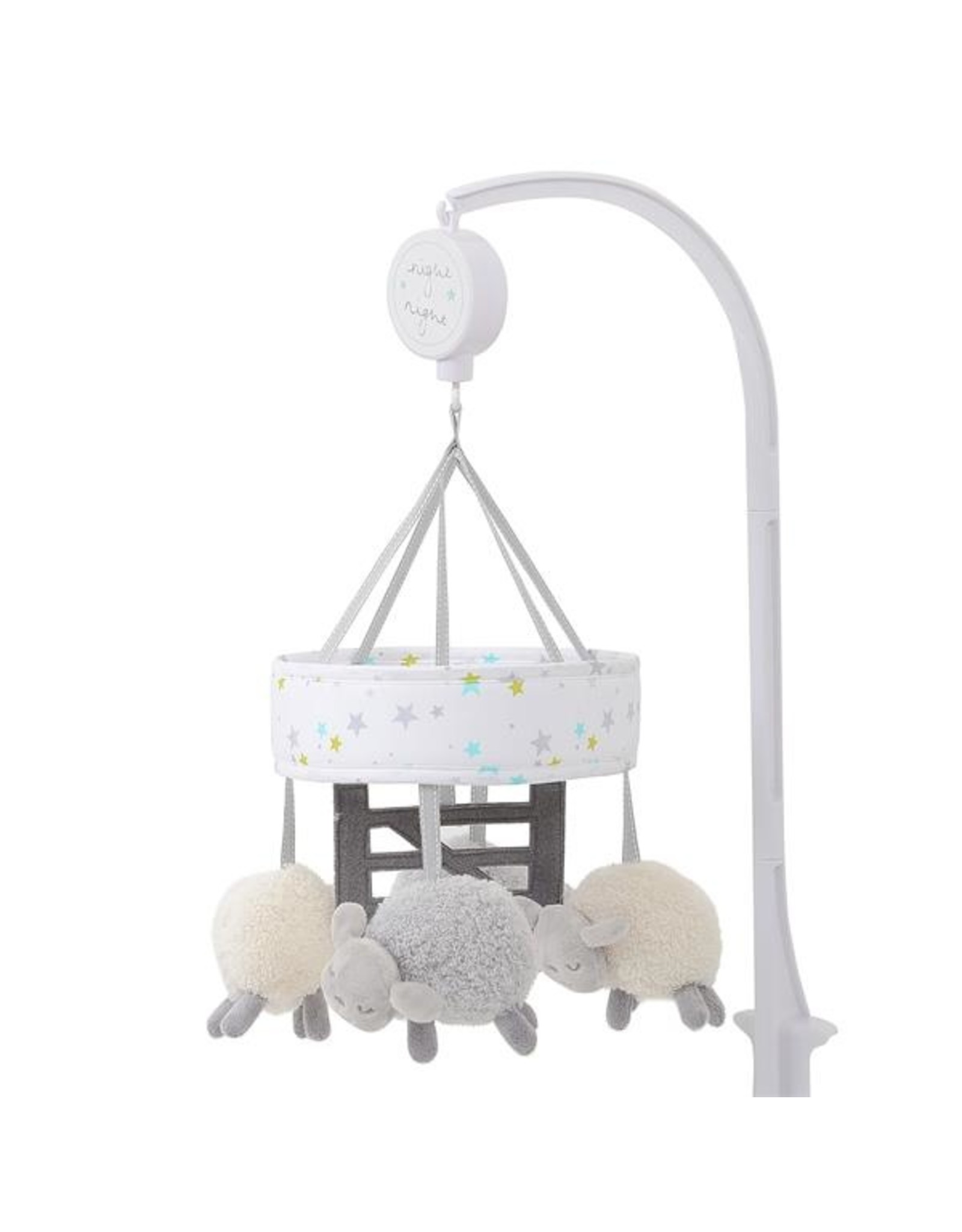 East Coast Counting Sheep Musical Cot Mobile
