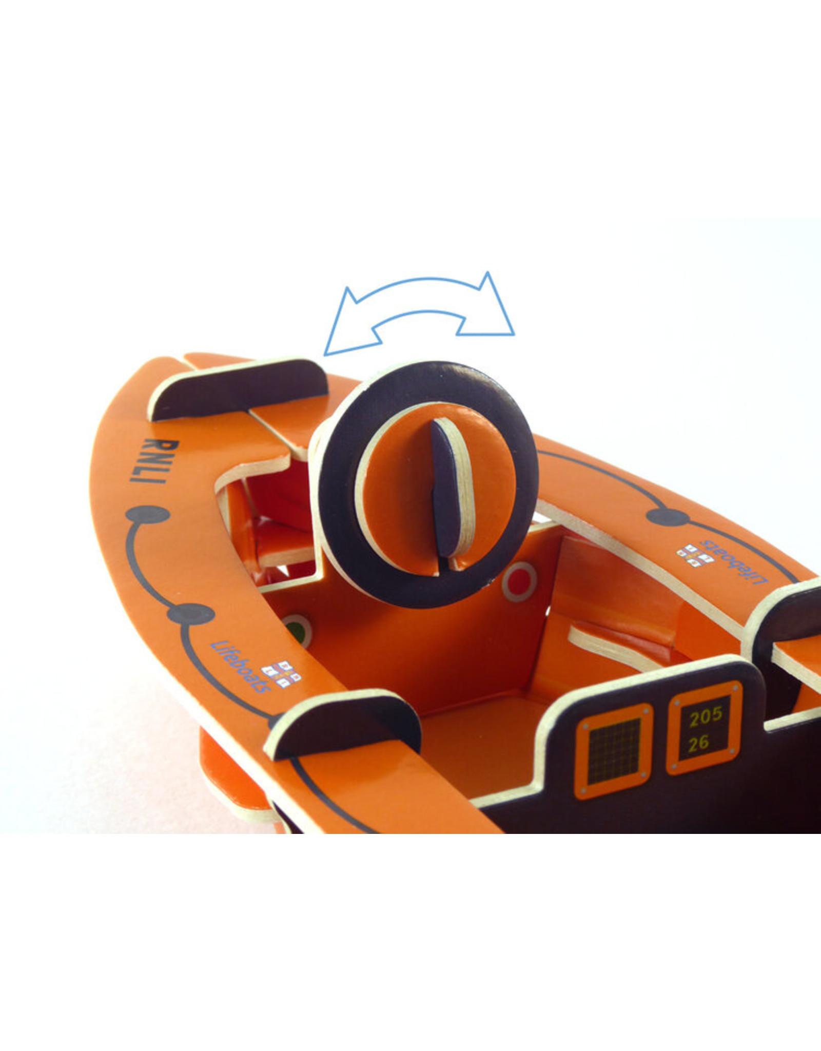 Playpress Toys RNLI Eco Friendly Lifeboat Playset