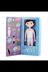 Wooden Magnetic Dress UP Doll - Alfie
