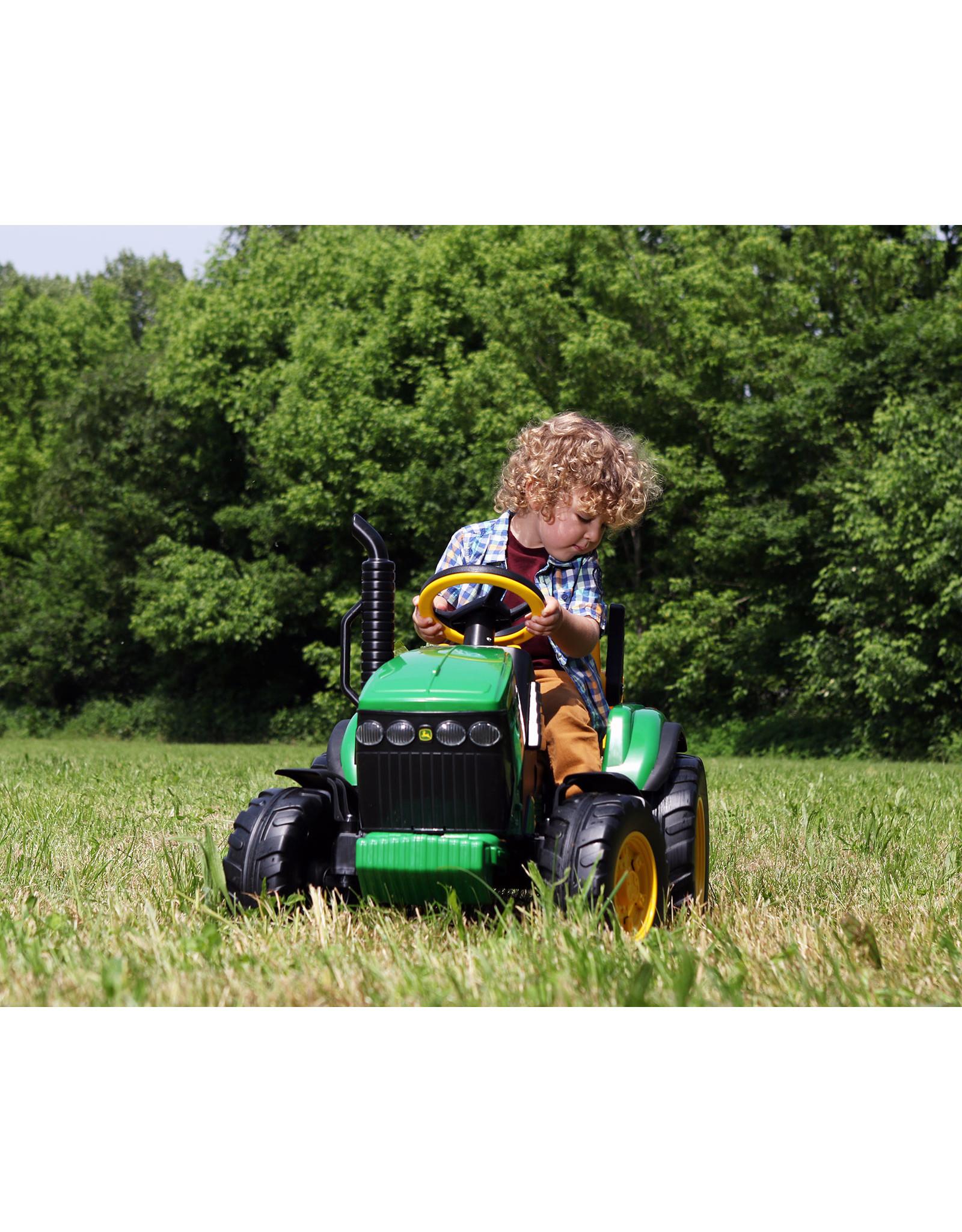 Peg Perego John Deere Ground Force Tractor & Trailer