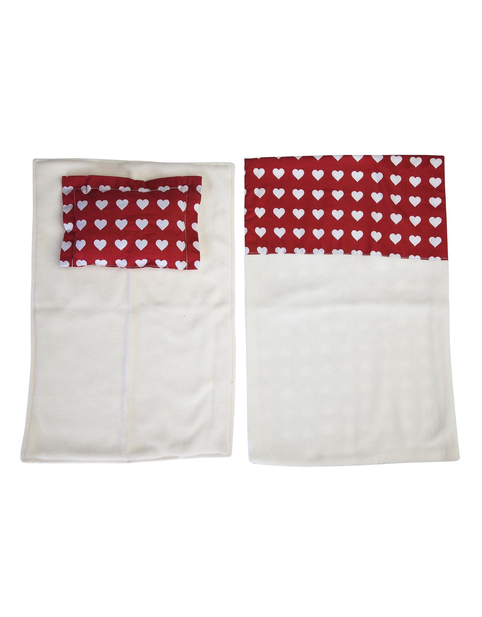Moover Moover Dolls Pram Bedding - Red