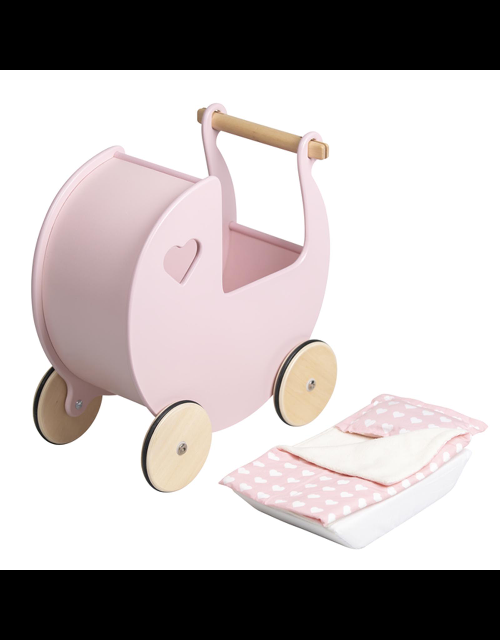 Moover Moover Dolls Pram Bedding -Pink