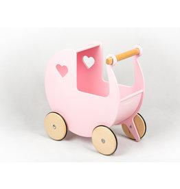 Moover Moover Dolls Pram - Pink