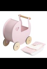 Moover Moover Dolls Pram- Pink