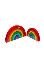 Best Years Wooden Rainbow Stacking Toy-Large