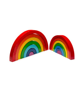 Best Years Wooden Rainbow Stacking Toy- Large