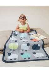 Bizzi Growin Baby Blanket- The Flock Knitted Blanket