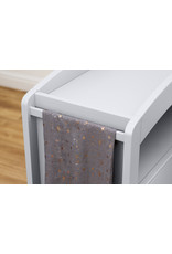 Boori Curved Two Drawer Chest Changer - White