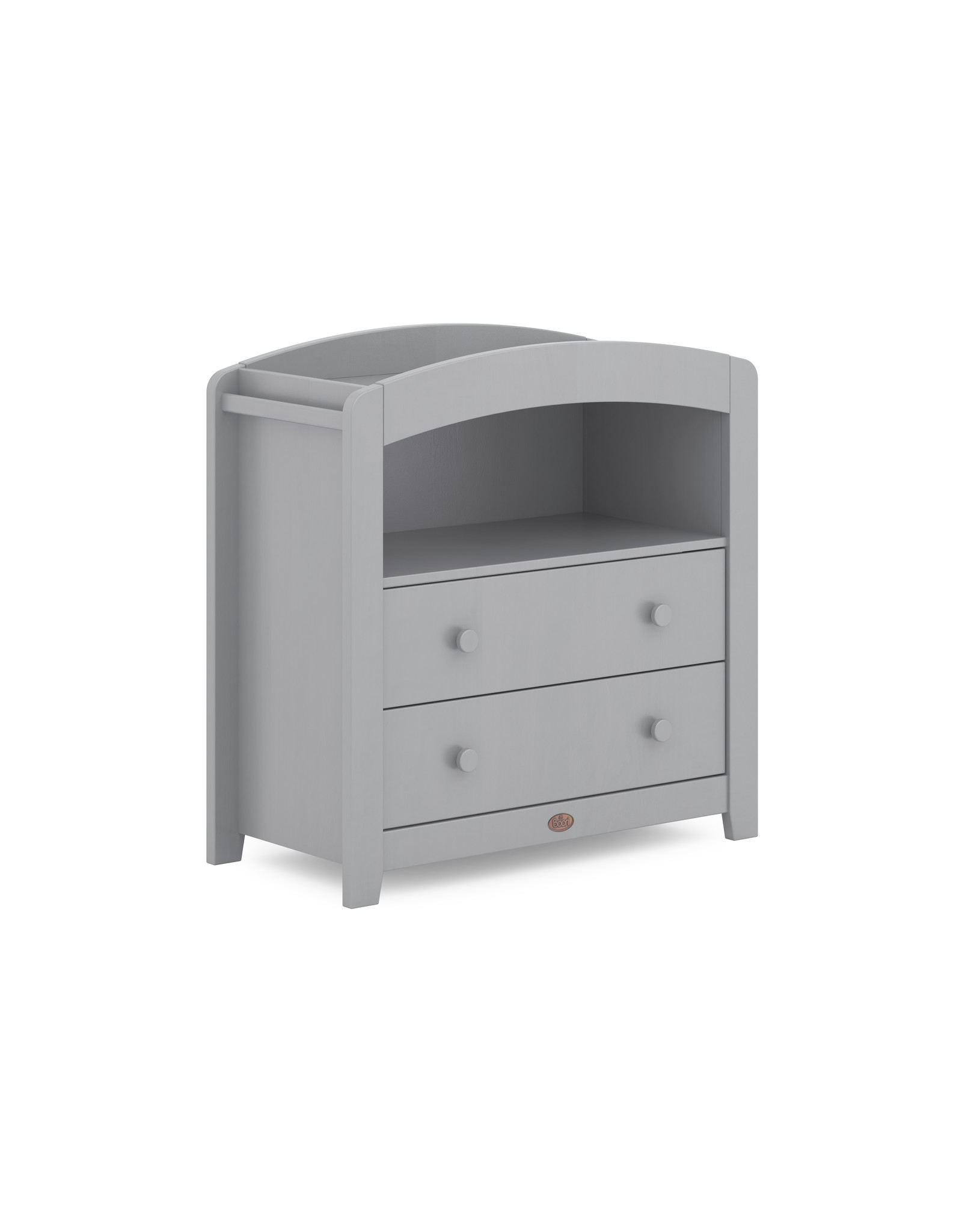 Boori Boori Curved Two Drawer Chest Changer - Pebble