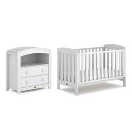 Boori Alice 2 Piece Nursery Furniture Set with Chest Changer