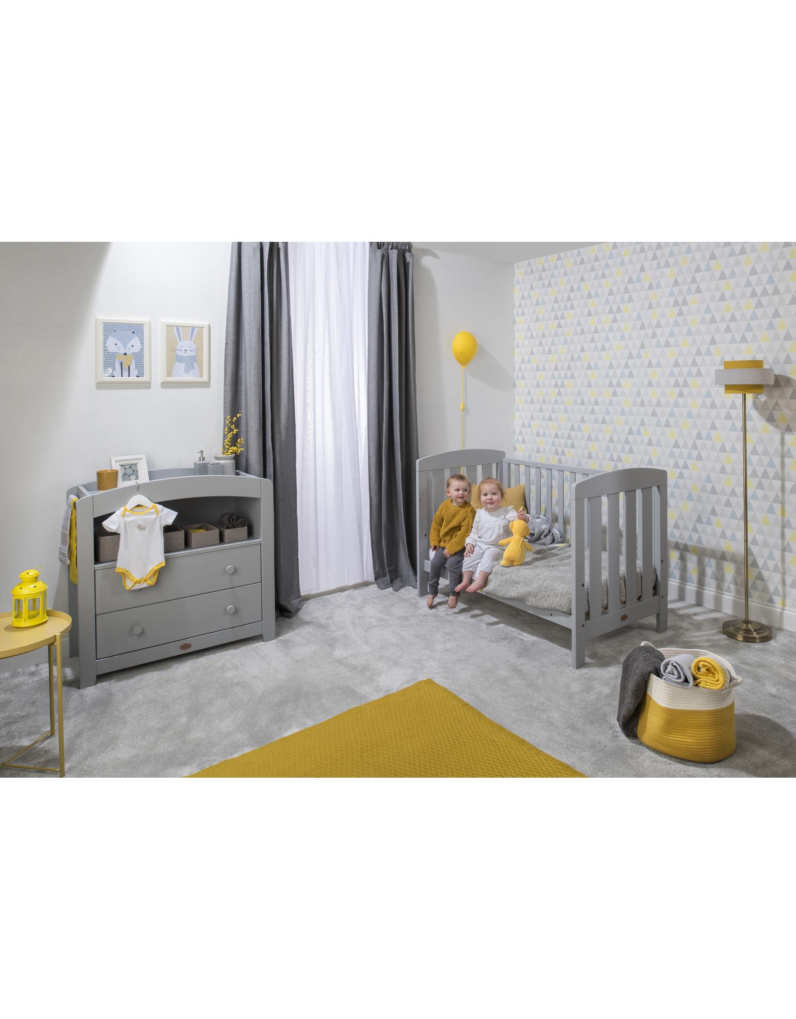 Boori Alice 2 Piece Nursery Set with Chest Changer -Pebble