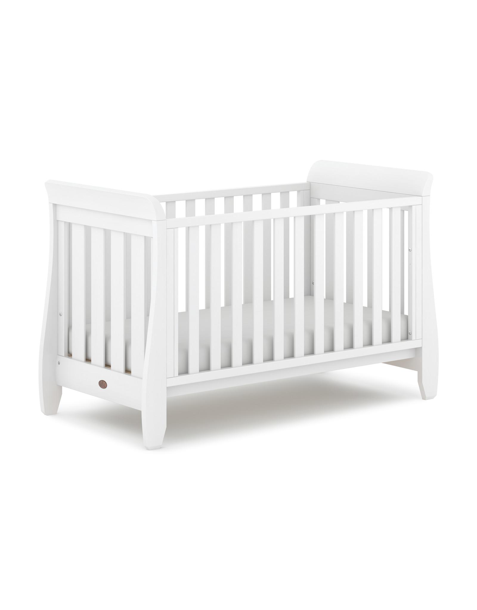 Boori Sleigh Urbane Cot Bed- White