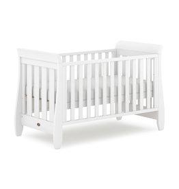 Boori Boori Sleigh Urbane Cot Bed- White