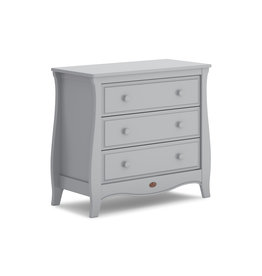 Boori Sleigh Chest of Drawers  (Smart Assembly)- Pebble