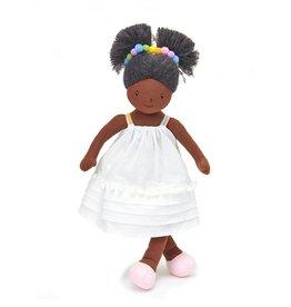 Threadbear Design Esme Rainbow Rag Doll