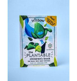 Willsow Plantable Children's Books- The Basil Who Built Bridges
