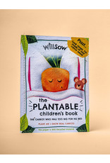 Willsow Plantable Children's Books- The Carrot Who Was Too Big For His Bed