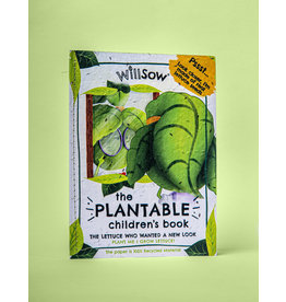 Plantable Children's Books- The Lettuce Who Wanted a New Look