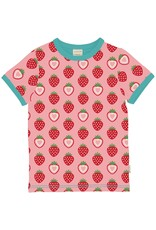 Maxomorra Maxomorra SS Strawberry T Shirt - 5-6 Years
