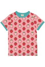 Maxomorra Maxomorra SS Strawberry T Shirt