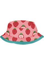 Maxomorra Maxomorra Sun Hat Strawberry- 1-4 months