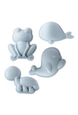 Scrunch Kids Scrunch Sand Moulds Frog Set