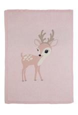 Bizzi Growin Baby Blanket- Felicity FawnKnitted Blanket