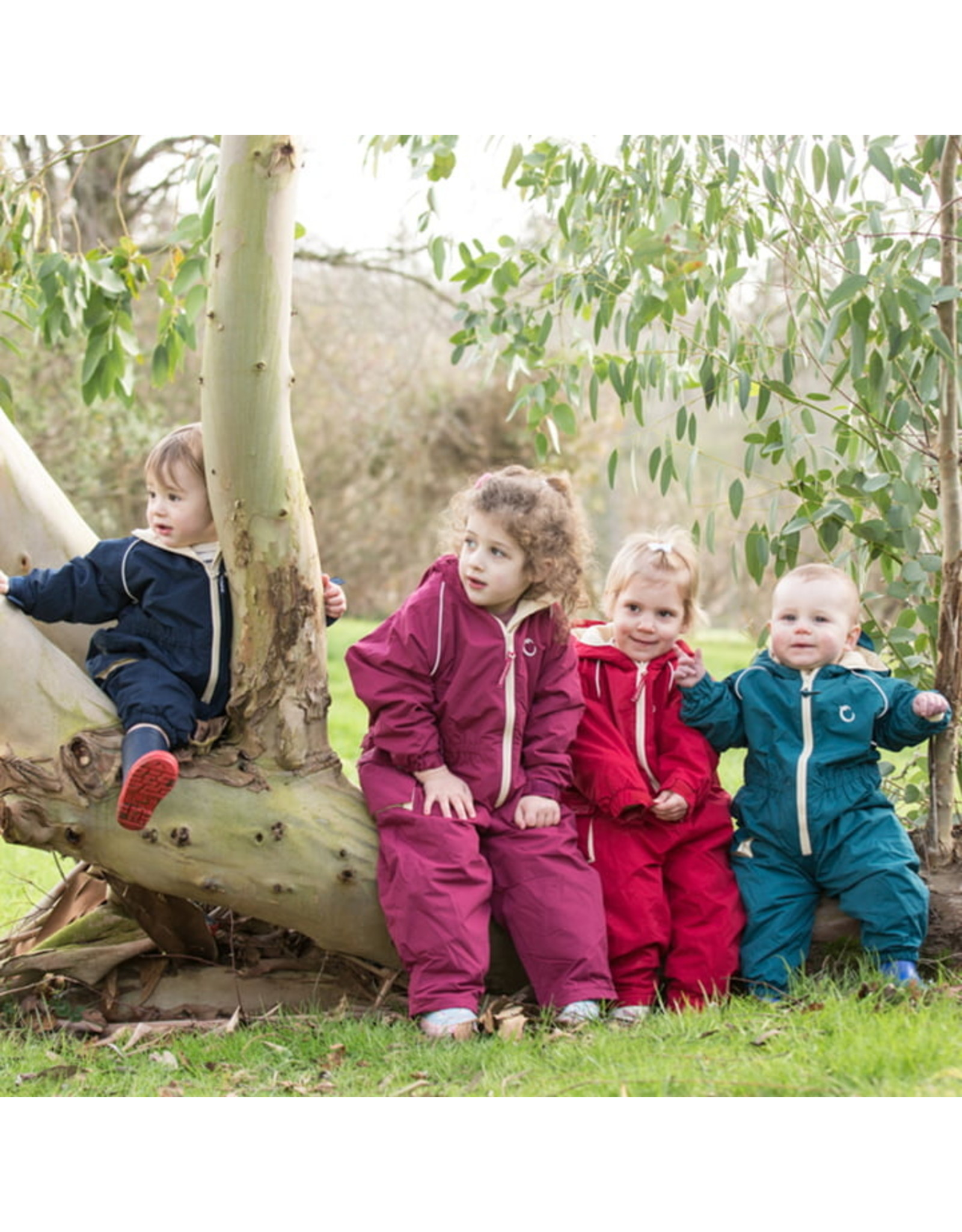 Toddler waterproof Fleece Lined Suit - Raspberry- 18-24 months