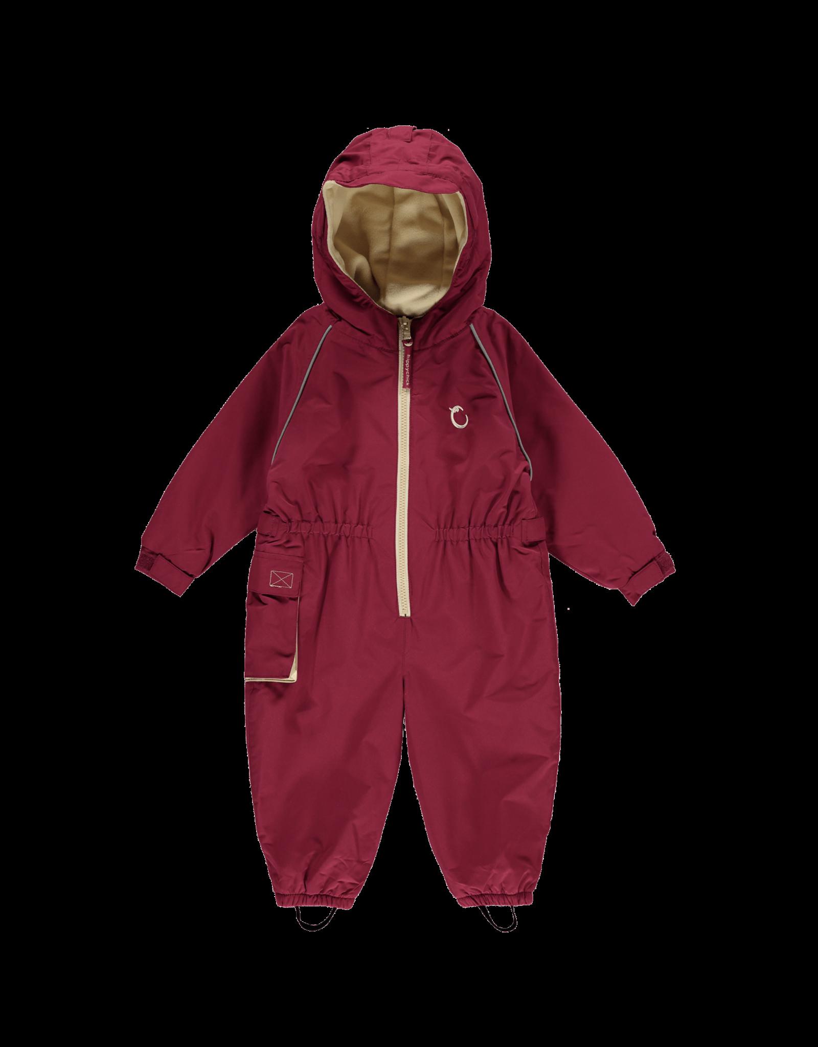 Toddler waterproof Fleece Lined Suit - Raspberry