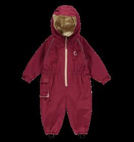 Toddler Waterproof Fleece Lined Suit - Rapsberry-18-24 months