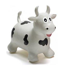 HappyHopperz Bouncy Kids Toy-White Bull