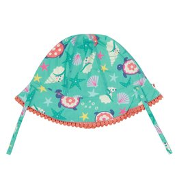 Piccalilly Baby Sun Hat - Deep Sea