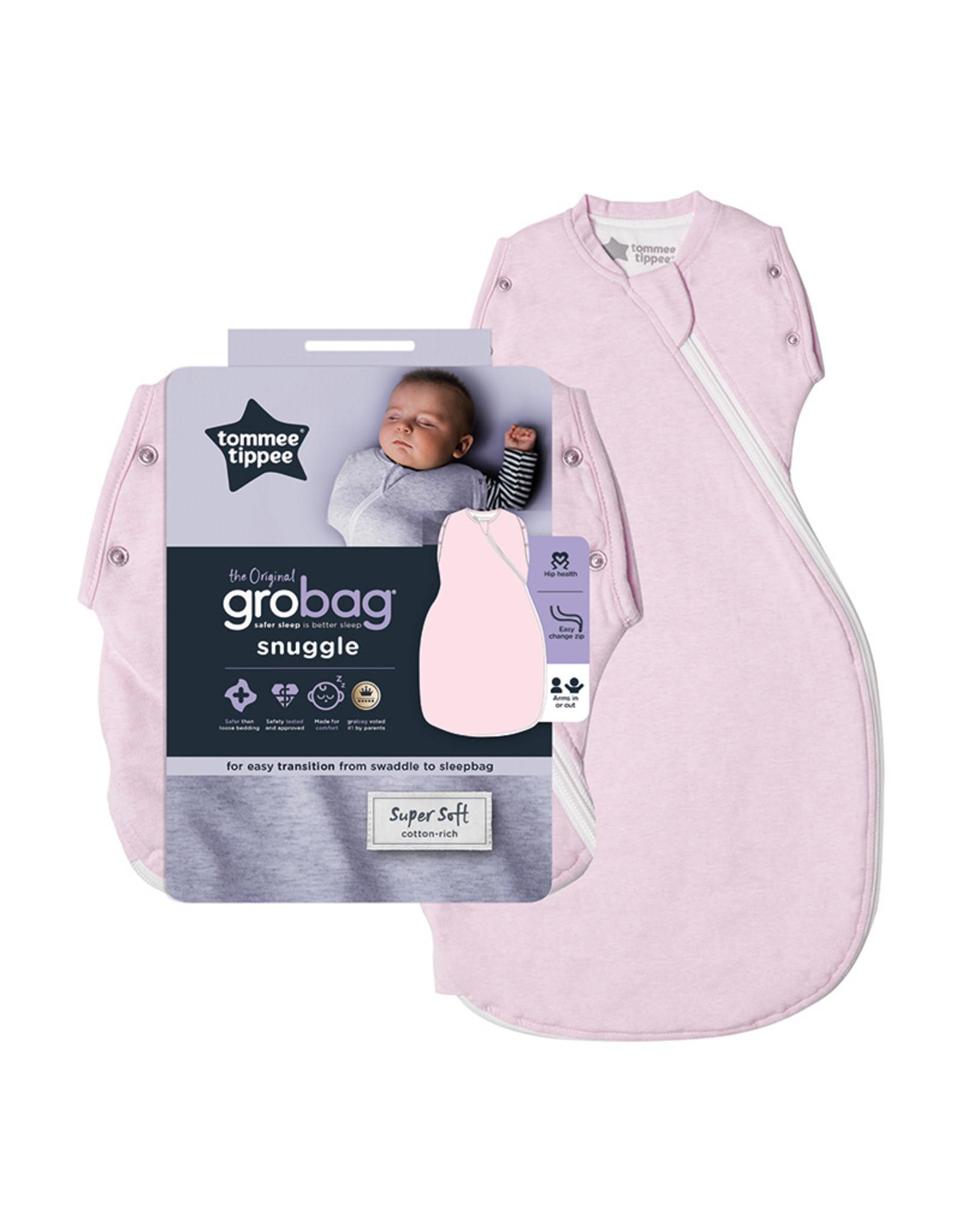 Gro Company Snuggle Gro Snug - 2.5 Tog -0-4 months - Pink Marl
