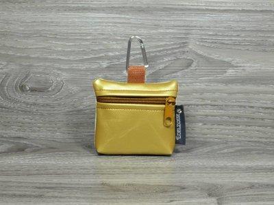 Edelzosse Mini-Tasche Gold-Bernstein