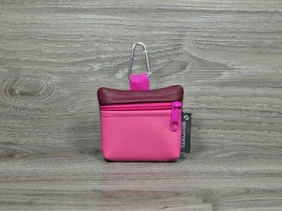 Edelzosse Mini-Tasche Pink-Bordeaux