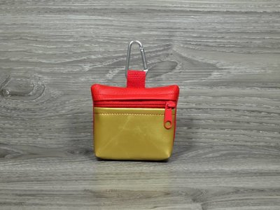 Edelzosse Mini-Tasche Gold-Rot