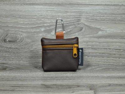 Edelzosse Mini-Tasche Braun-Bernstein