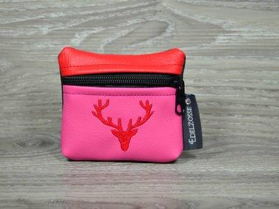 Edelzosse Dirndl Tascherl Pink Bestickt